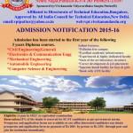 Admission 2015-16